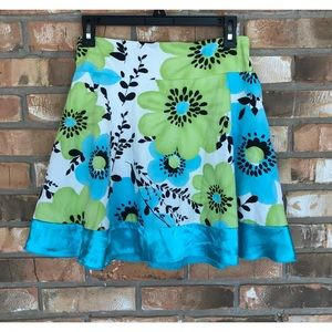 My Michelle Girls Floral Print Skirt      Size 14